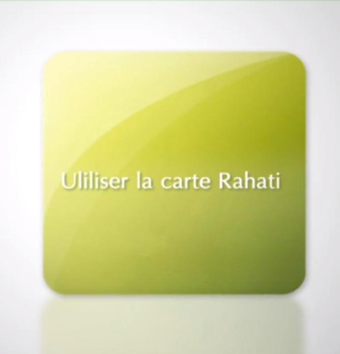 Utiliser la carte Rahati